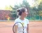 Ela na tenisie