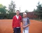 Piotrek i Paweł na tenisie