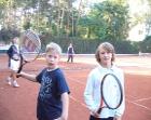 trening tenisowy w Radości