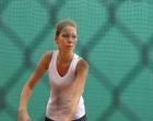 Marcelina na turnieju tenisowym